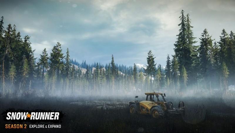 New screenshots of the second season of SnowRunner