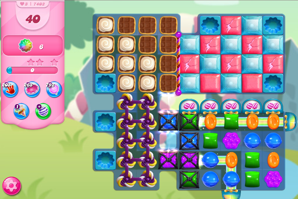 Candy Crush Saga level 7402