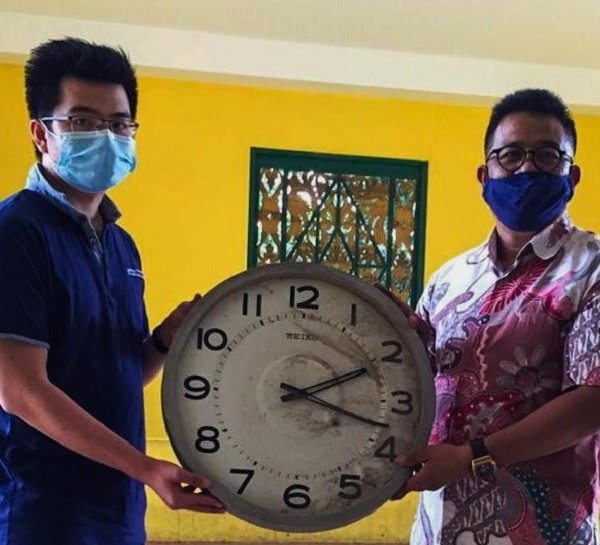 Jam di Simpang Laluan Madani, Kini Menjadi Koleksi Museum Raja Ali Haji