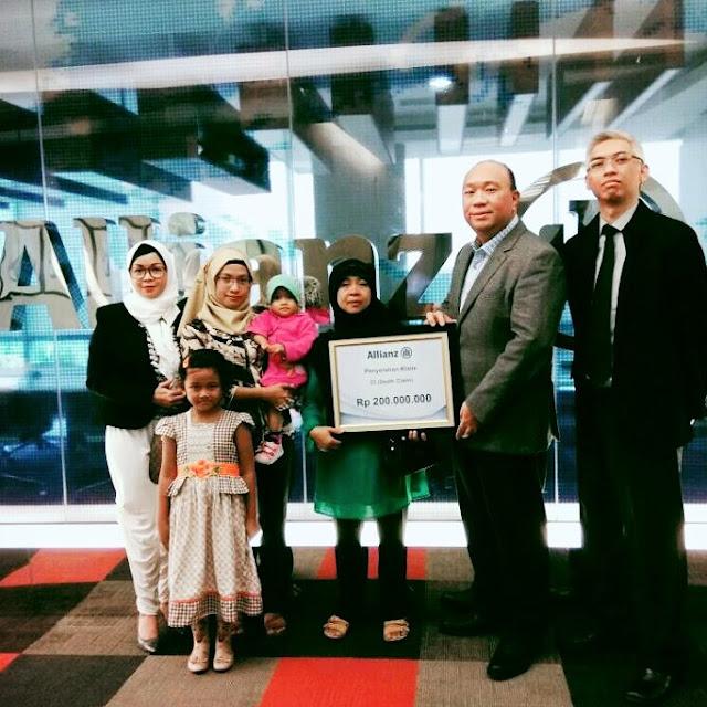 bukti pembayaran klaim asuransi allianz life indonesia