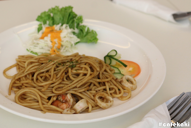 Black Pepper Seafood Pasta (RM16.90)