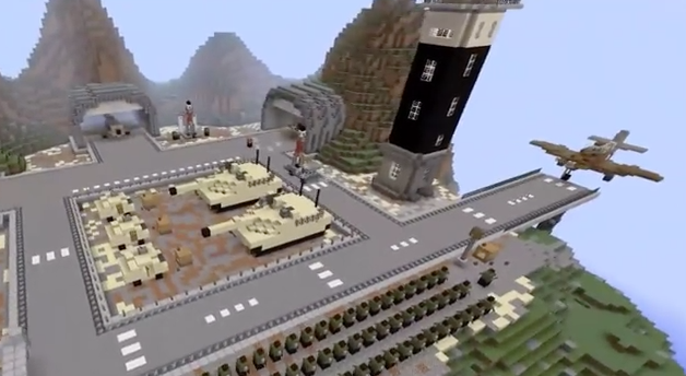 Minecraft Pe Military Base Map Download