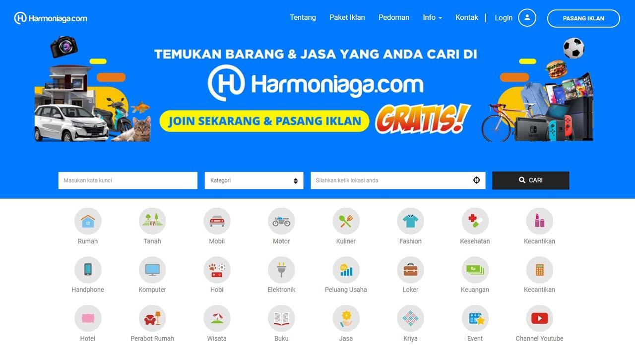 Segera Promosikan Barang dan Jasa Anda Secara Online di Harmoniaga.com