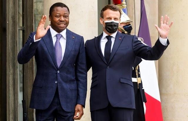 Faure Gnassingbé reçu à l'Elysée par Emmanuel Macron