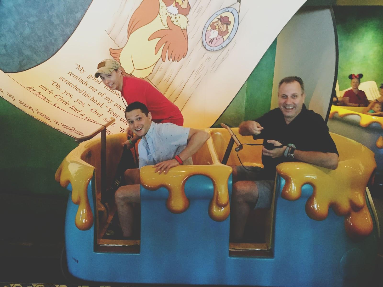Winnie the Pooh ride at Magic Kingdom in Disney World, Florida