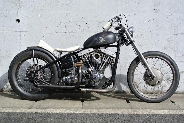Harley Davidson Shovelhead 1982 By Blacktop Motorcycle Hell Kustom