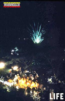 La iluminación de Navidad de la Plaza Bolívar de Caracas