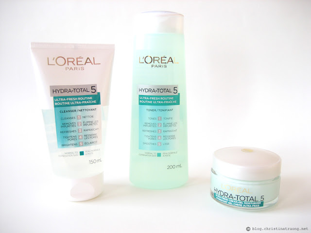 L'Oreal Paris Skin Care Expert Hydra Total-5 Ultra-Fresh Ritual Review Influenster
