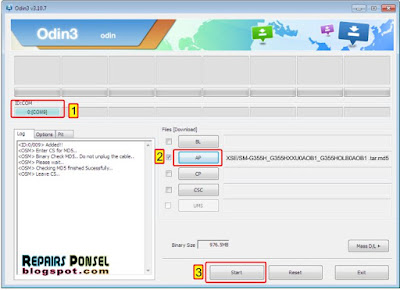 Tutorial Cara Flash Samsung Galaxy Core 2 SM-G355H