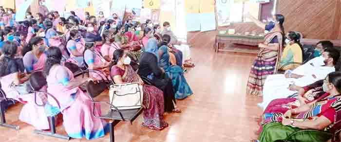 Kanhangad Municipality organized exhibition as part of 46th anniversary celebrations of ICDS