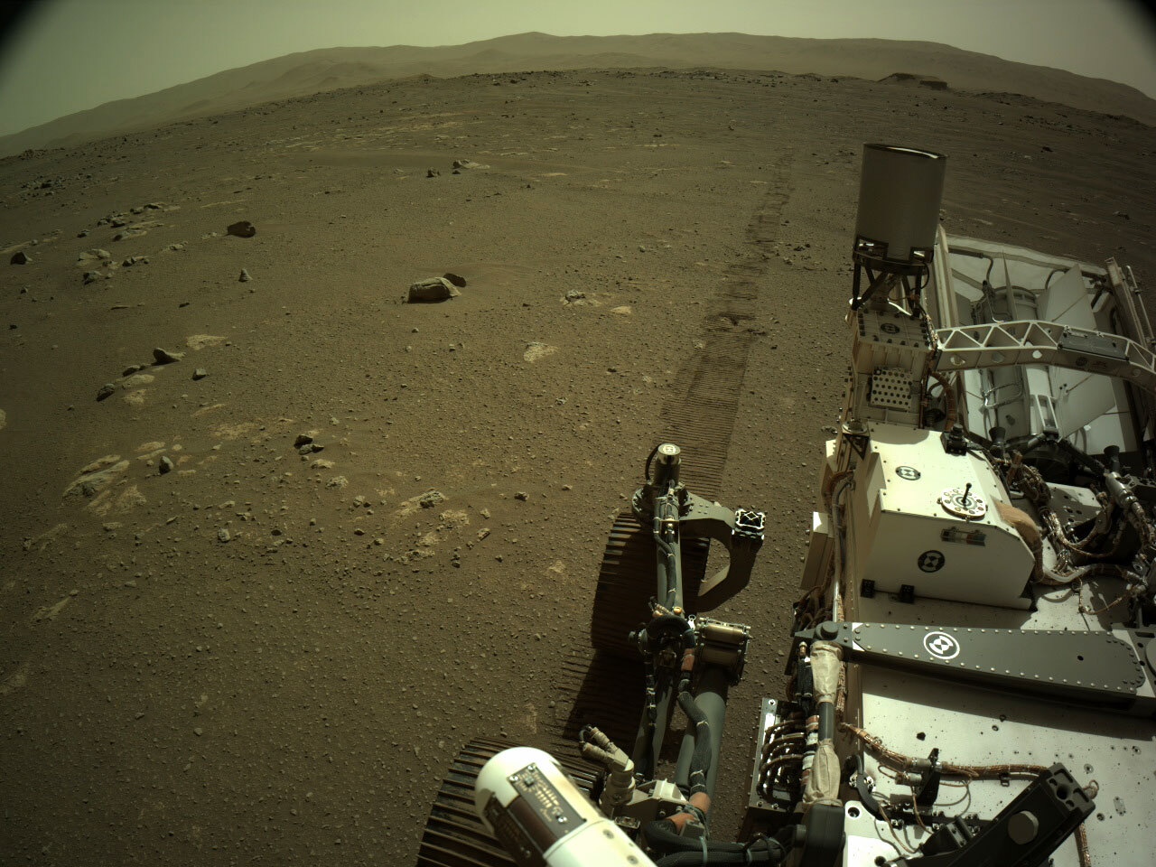 Perseverance Captures The Sounds Of Driving On Mars