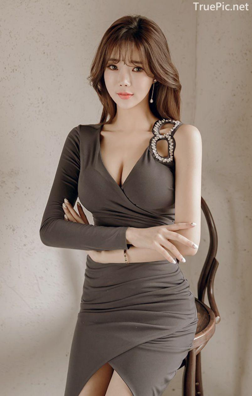 Korean Fashion Model - Kang Eun Wook - Indoor Photoshoot Collection - TruePic.net - Picture 1