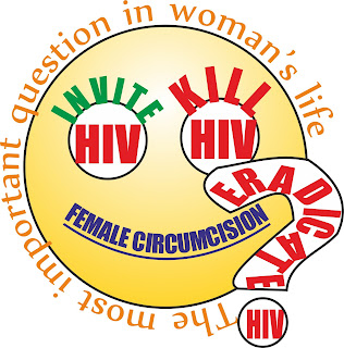 Female Circumcision – the most important question in woman's life. EradicateHIV. Eradicate HIV.