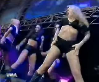 WWA The Inception 2001 - The Starrettes were WWA's answer to The Nitro Girls