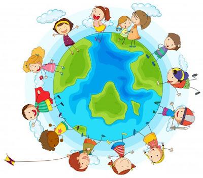 Los niños del mundo: diversión y juguetes e imaginación