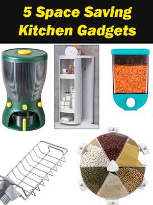 5 Best Space Saving Kitchen Gadgets to Buy Online