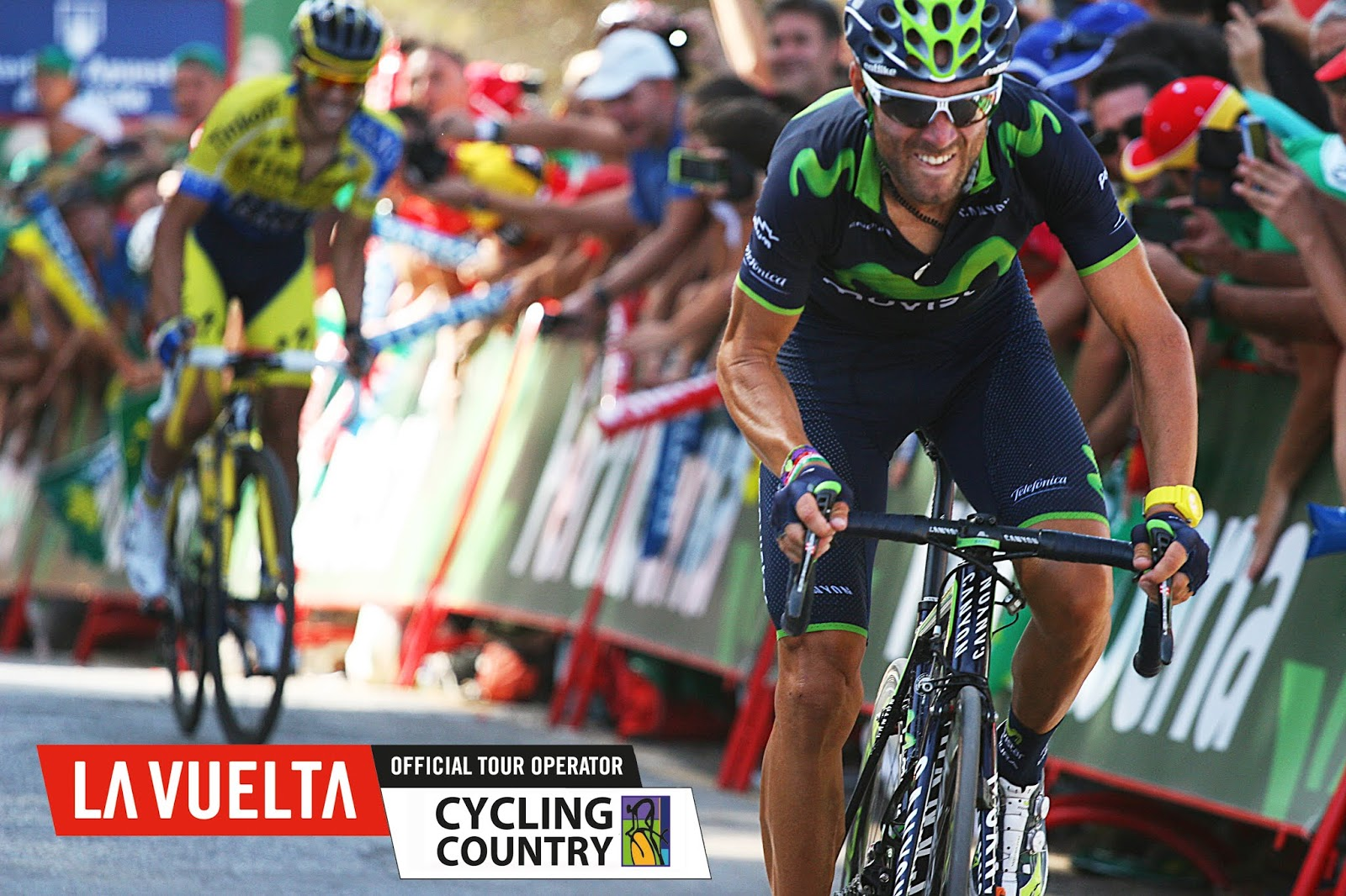 Cycling Country at La Vuelta Bike Tour in Granada's stage