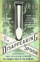 Book cover image of The Disappearing spoon