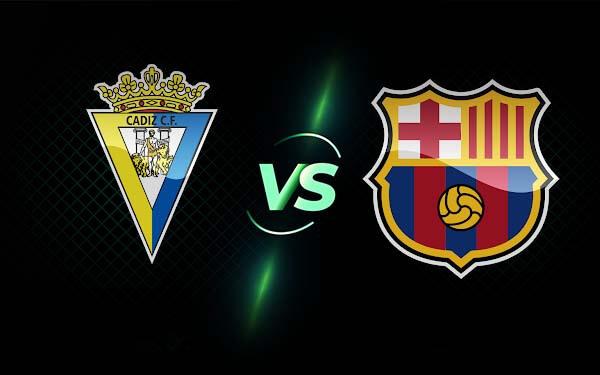 برشلونة وقادش بث مباشر