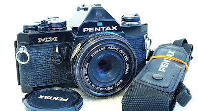 Pentax MX 35mm SLR (Black) Body #495, SMC Pentax-M 40mm F2.8 #495