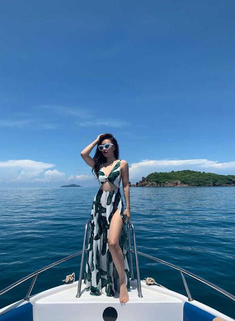 DJ Tít hậu ly hôn: Sống vui vẻ, liên tục tung ảnh bikini khoe thân hình săn chắc, gợi cảm