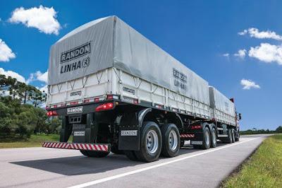 Alta de 79,8% no mercado de implementos para caminhões