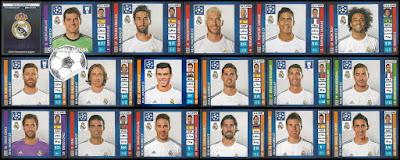 Real Madrid Panini Champions League 2013/14