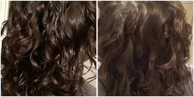 włosy po zdrowej dawce protein