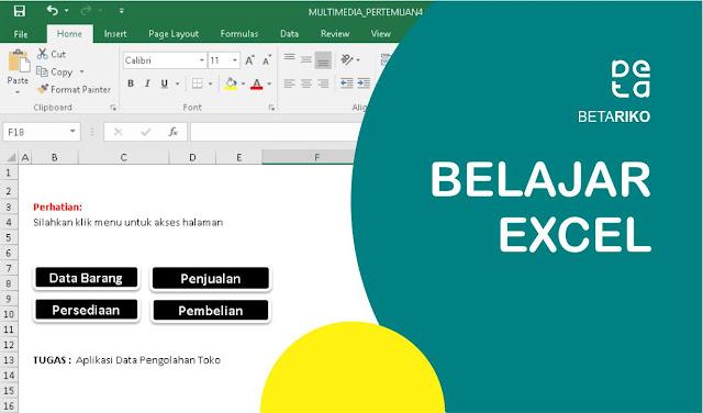 Studi Kasus Aplikasi Data Pengolahan Toko di Excel