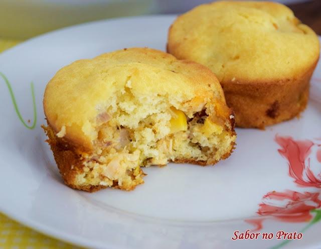 muffin de frango simples