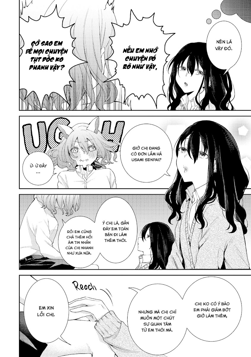 HentaiVN.net - Ảnh 5 - Tuyển tập Yuri Oneshot - Chap 159: I Grew Bunny Ears Because I Was Lonely