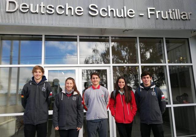 Alumnos del DS Frutillar viven intercambio en Alemania