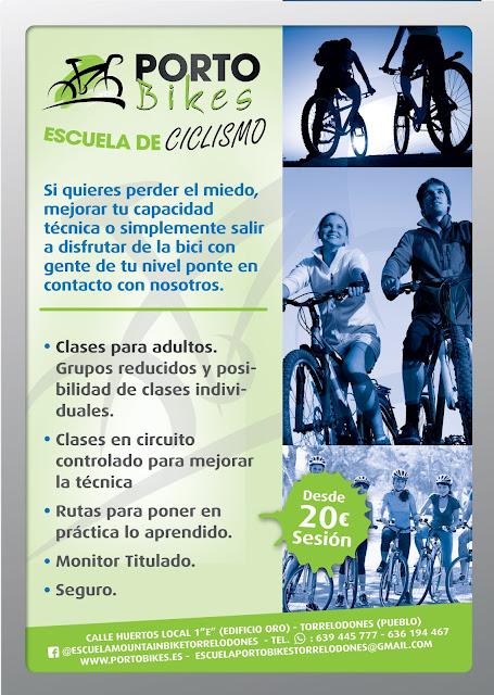 Escuela de ciclismo para adultos Porto Bikes