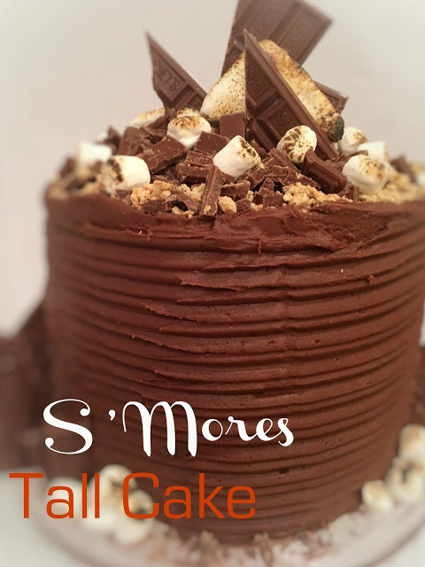 S'Mores Tall Cake