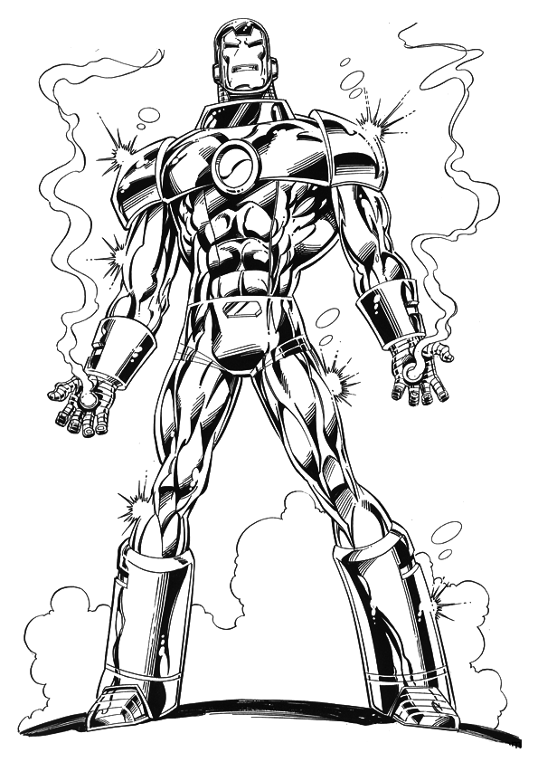 iron man coloring pages free | Iron Man Coloring Pages ~ Free Printable Coloring Pages ...