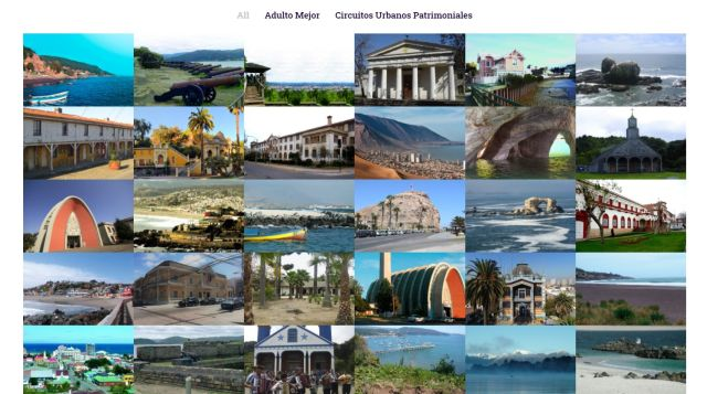 Rutas Patrimoniales: Adulto Mejor