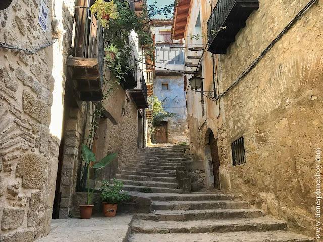 Viajar Matarraña toscana españa pueblos encanto valderrobres