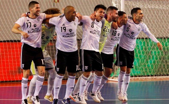 Benfica vencedor da Taça da Liga 2018/19 em Futsal
