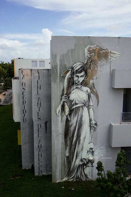 """Marauders"" New Street Art Mural By Faith47 For Los Muros Hablan '13 In Puerto Rico. 2"