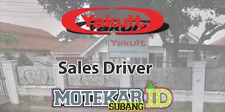 Lowongan Kerja Sales Driver YS Subang 2019