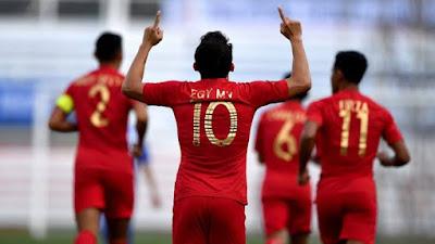 Timnas Indonesia Kalah Tipis 2-3 dari Tim Afghanistan
