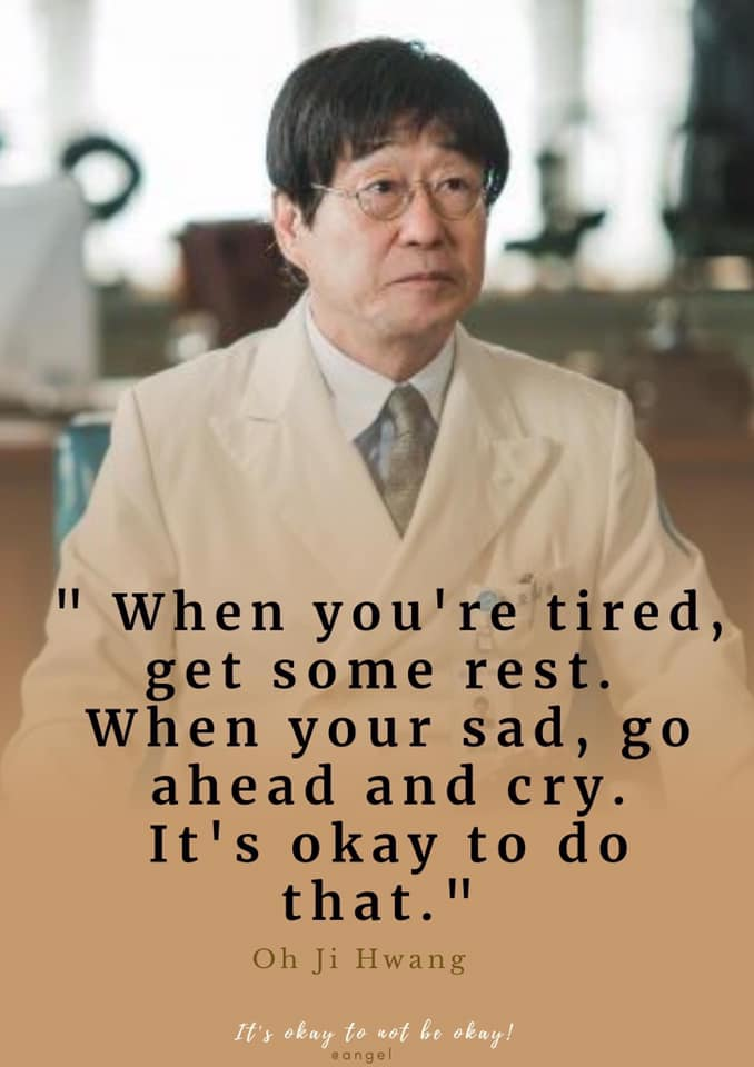 When You Are  sad  go ahead and cry its okay to do that-oh Ji Hwang