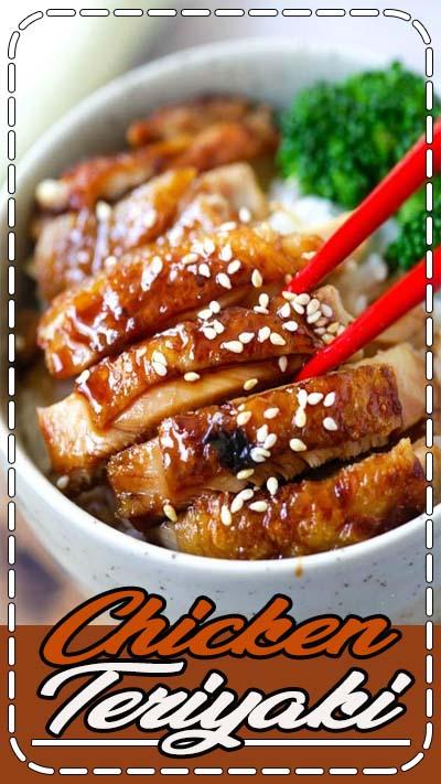 Chicken Teriyaki – chicken teriyaki that taste like the best Japanese restaurants. So easy and so good   rasamalaysia