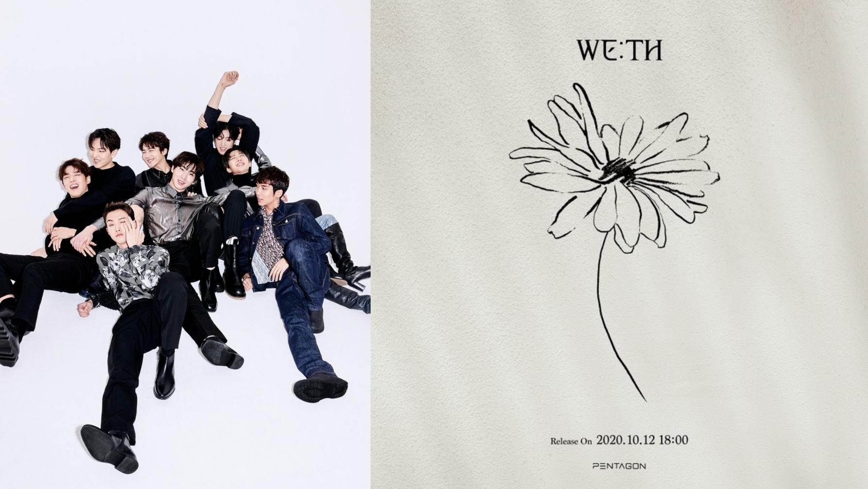 PENTAGON Leaks Comeback Date With Mini Album 'WE:TH'