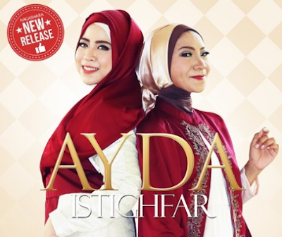 Download Lagu Ayda Istighfar Mp3 (3.60MB) Single Religi 2018 Baru, Ayda, Lagu Religi, Album Religi,