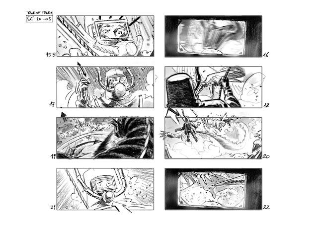 Tale of Tales #storyboard