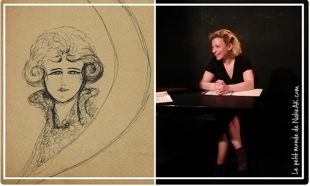 autoportrait de Léona Delcourt ( Nadja André Breton )
