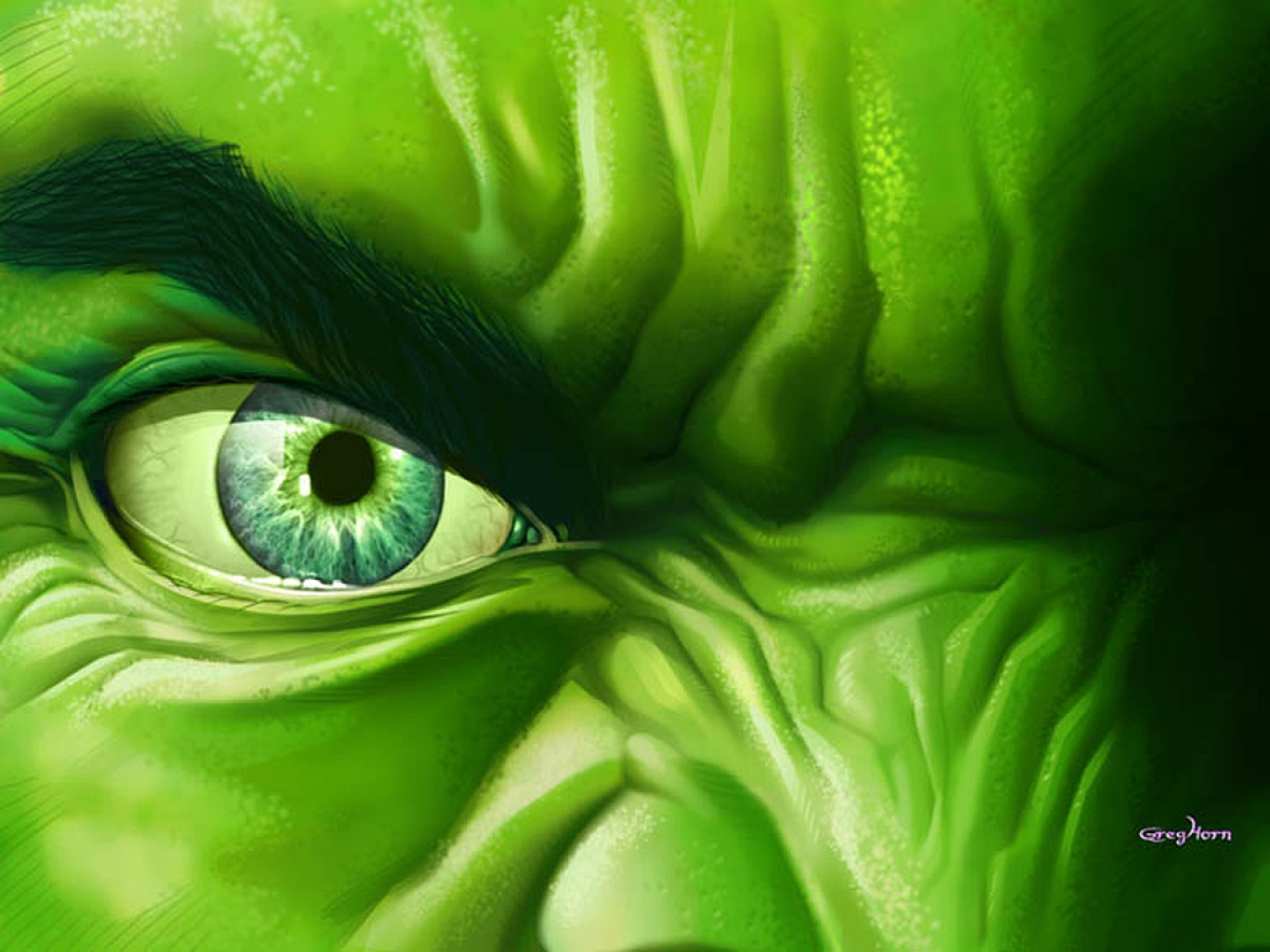 wallpaper free download of the face with a lot of anger hulk