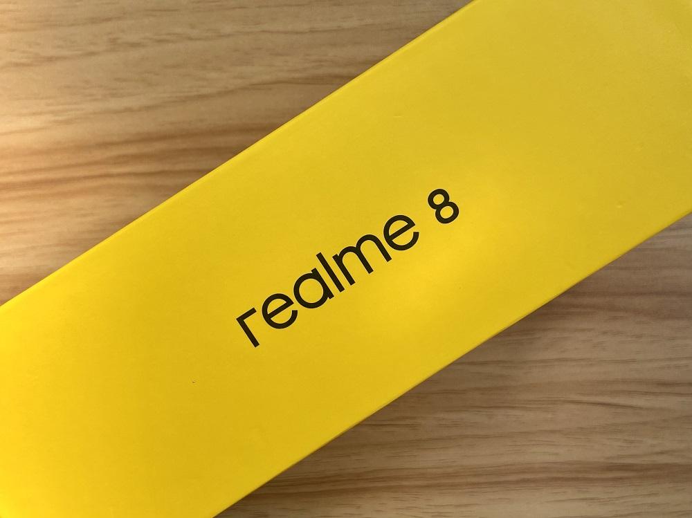 realme 8 - Box Sides