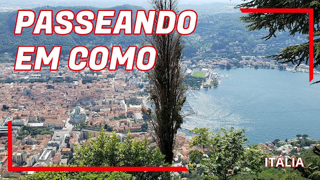 cidade de Como na Itália